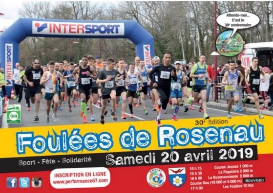 Foulées Rosenau 2019
