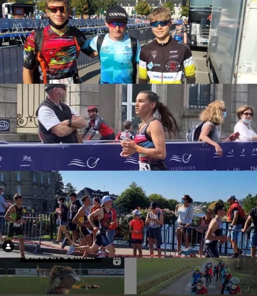 Les championnats de France d'Aquathlon